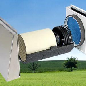 Sistem Sevi160 complet echipat. Sisteme ventilatie recuperare caldura